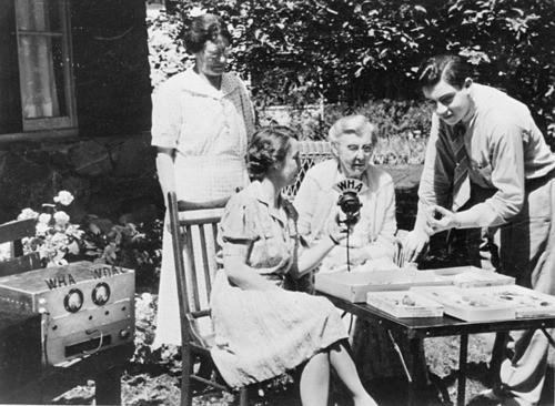 Aline Hazard radio broadcast WHA Radio Homemakers Program
