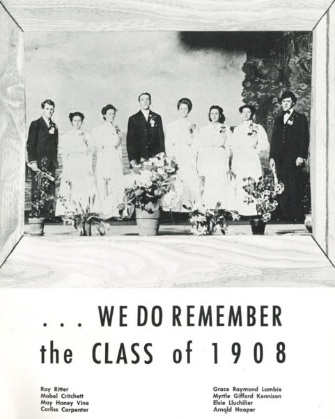 Crandon high school yearbook 1958