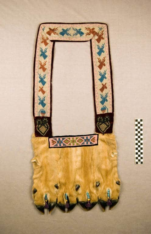 Bandolier bag, Lac du Flambeau Band of Lake Superior Chippewa.