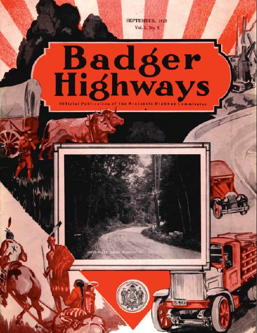 Badger Highways, September 1919.