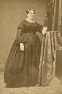 Portrait of Elizabeth Baird ca. 1879. Wisconsin Historical Images.