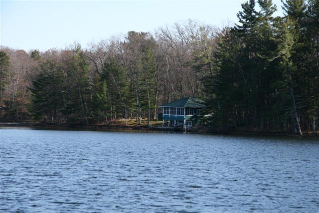Isle of Pines boathouse.