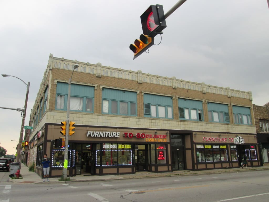 The former Klitsner's Department Store building, as seen in 2013. Photo by Michael Leannah.