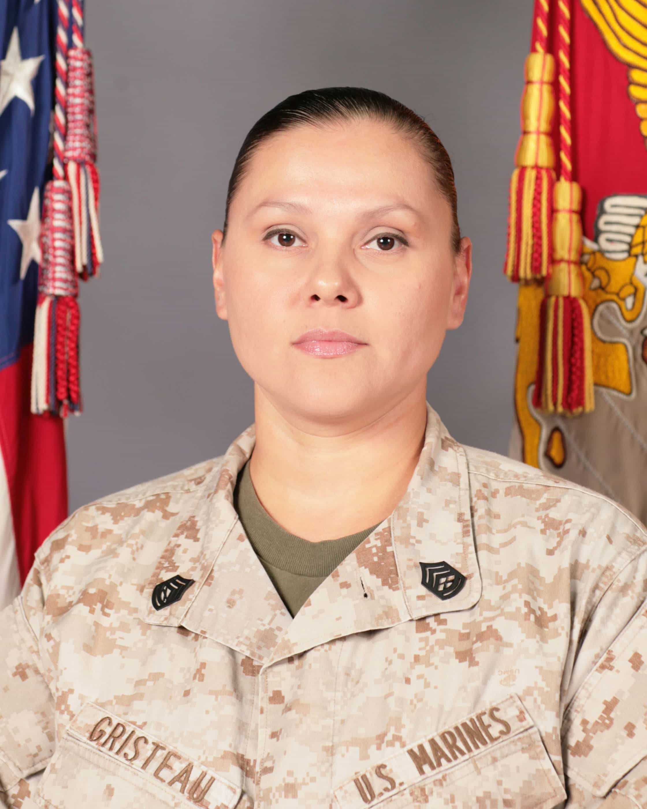 Peggy J. Gristeau, United States Marine Corps. Contributed by Andrea S. Gristeau.