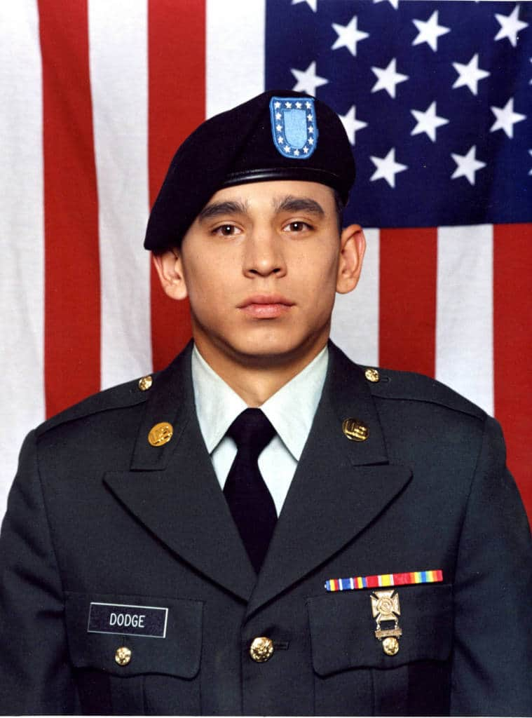 Specialist Matthew R. Dodge, United States Army and United States Army Reserve. Contributed by Richard and Sylvia Dodge.