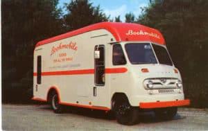 Postcard: Bookmobile, Madison WI .