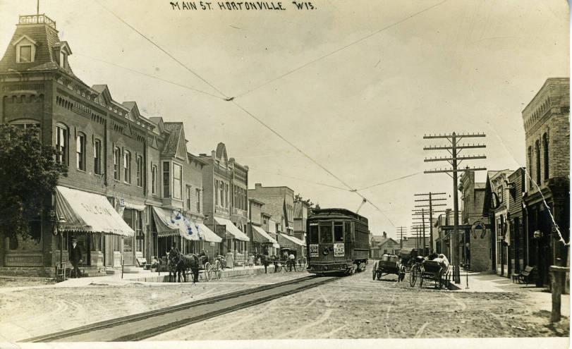 Main Street, Hortonville, ca. 1911