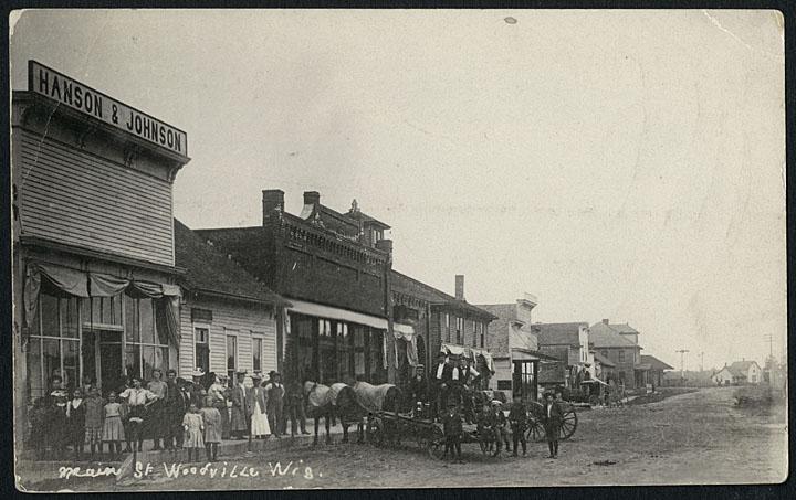 Main Street, Woodville, ca. 1900