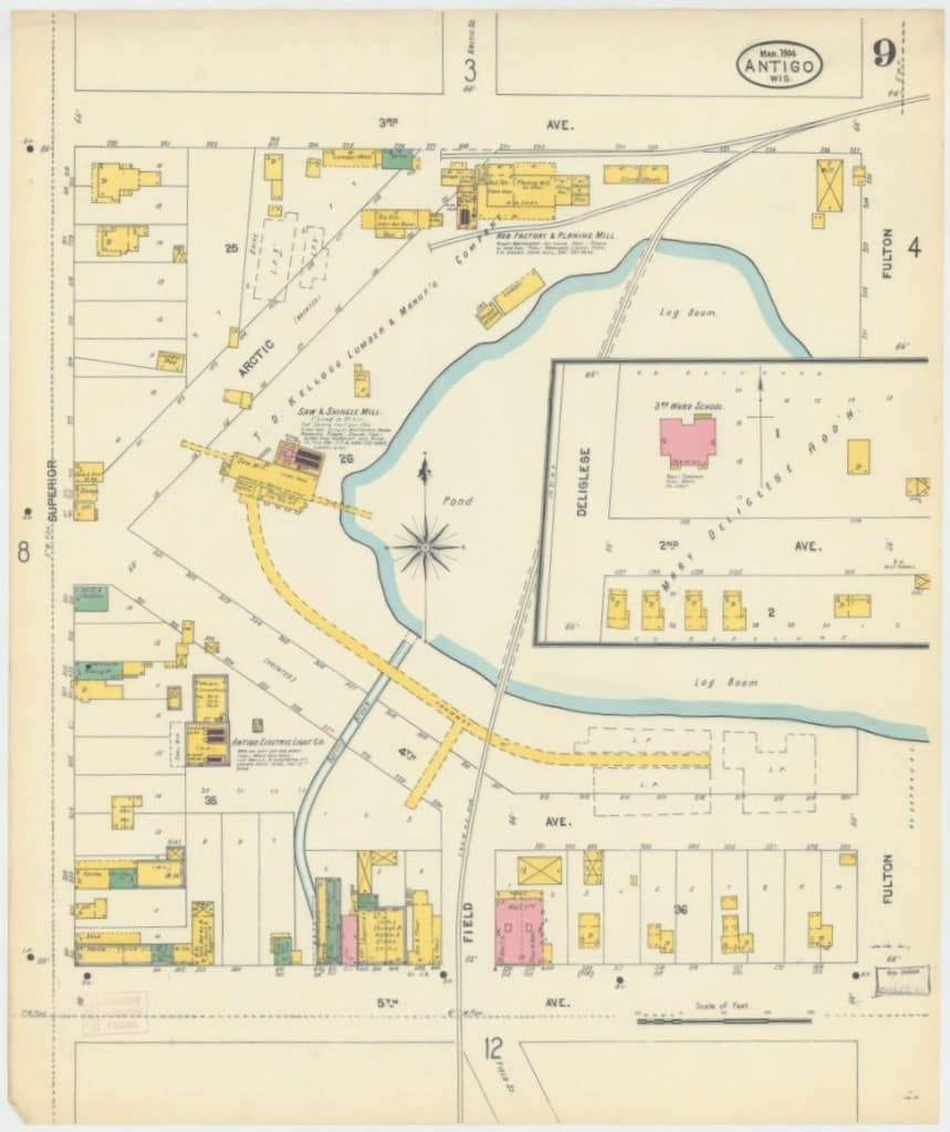 Sanborn Fire Insurance Maps, Wisconsin Historical Society ... on
