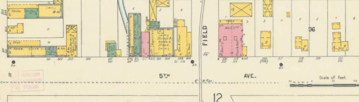 Sanborn Fire Map.Sanborn Fire Insurance Maps Wisconsin Historical Society