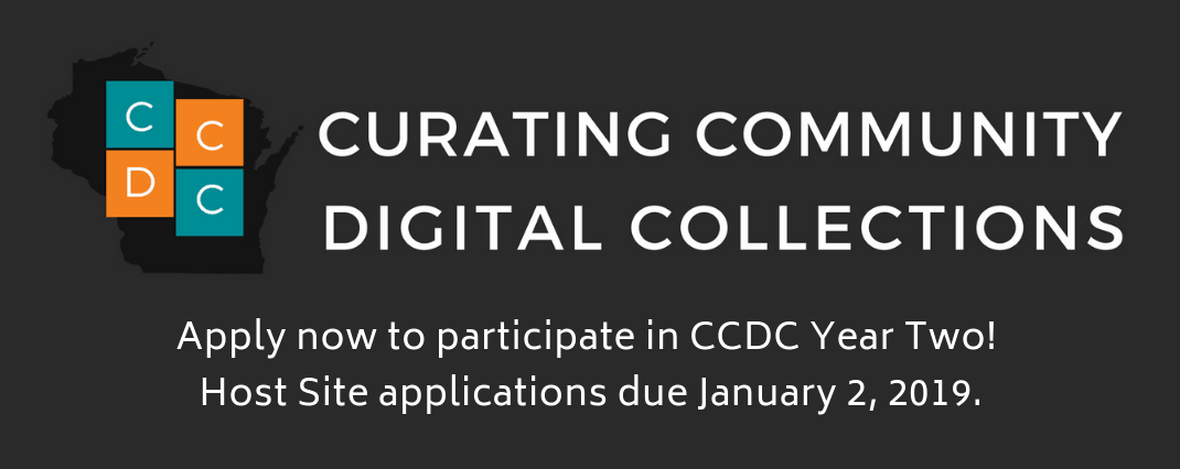 Curating Community Digital Collections Year Two